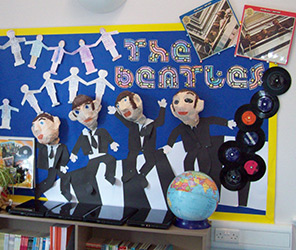 Beatles display